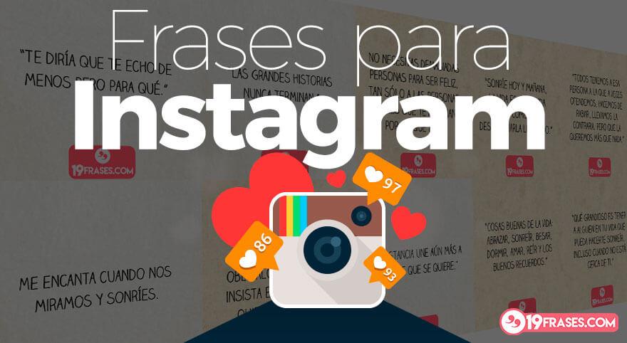 Mensagem Para Foto Instagram: 19 Excelentes Frases Para Instagram Con Imágenes Para