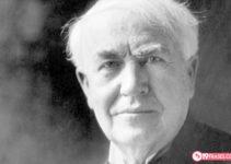 19 Frases de Thomas Edison sobre el trabajo duro y como llegar al éxito