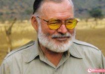 19 Frases de Ernest Hemingway, Ganador del premio Nobel