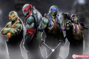 frases de las tortugas ninja