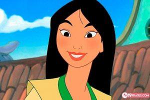 19 Frases de Mulán, una princesa de armas tomar