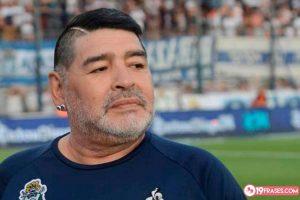 19 Frases de Maradona, el Dios del fútbol