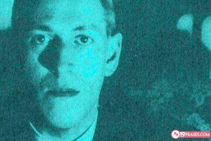 19 Frases de H.P. Lovecraft, de los mejores escritores de terror y ficción