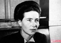 19 Frases de Simone Beauvoir, una gran filósofa y feminista
