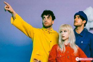 19 Frases de Paramore, una GRAN banda de rock