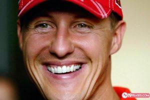 19 Frases de Michael Schumacher sobre el pilotaje automovilístico